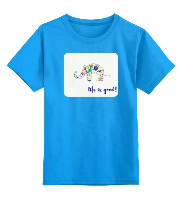 Printio Слоник детская футболка классическая унисекс printio о красоте