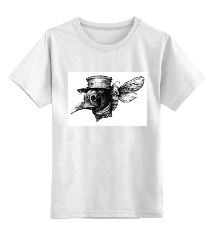 Фото - Детская футболка классическая унисекс Printio Plague худи print bar plague doctor
