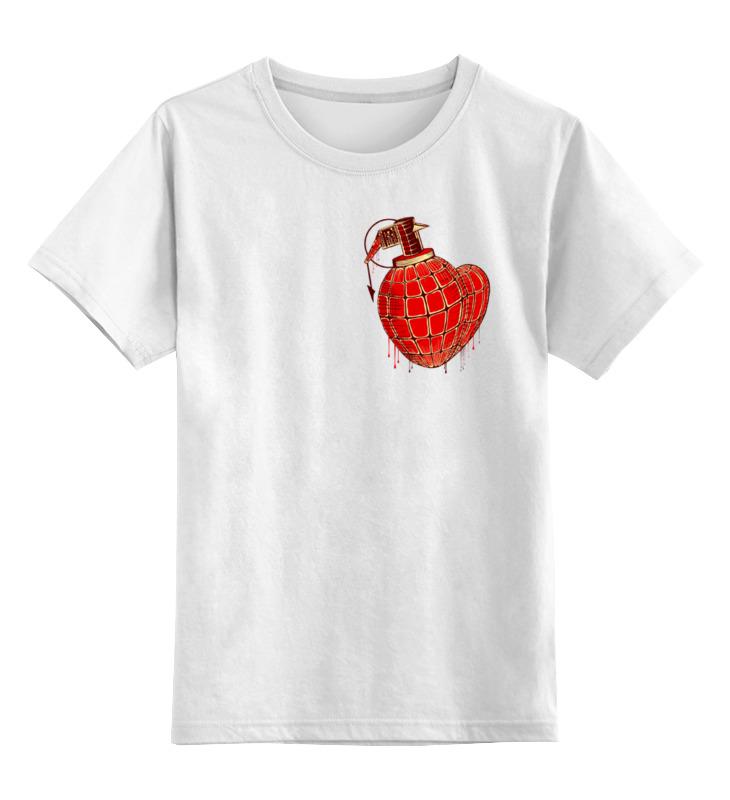 Детская футболка классическая унисекс Printio Любовь война майка классическая printio война никогда не меняется