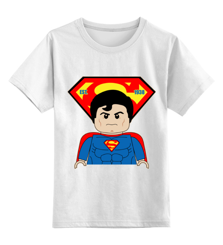 Детская футболка классическая унисекс Printio Лего супермен детская футболка классическая унисекс printio лего lego