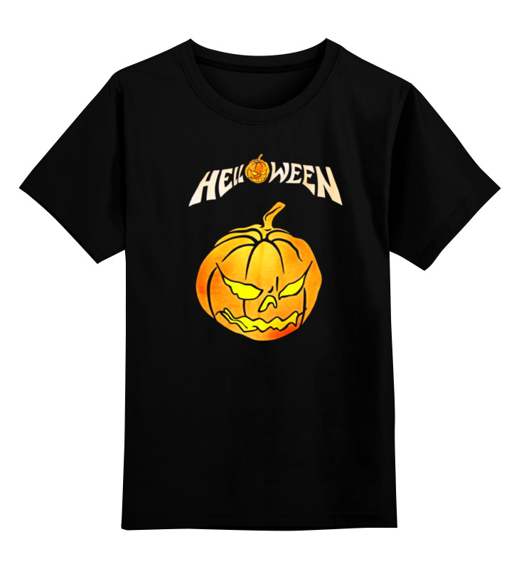 Детская футболка классическая унисекс Printio Helloween ( rock band ) футболка классическая printio helloween