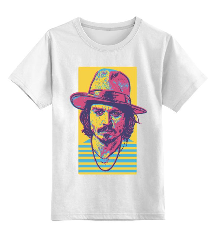 цены Детская футболка классическая унисекс Printio Джонни депп в интернет-магазинах