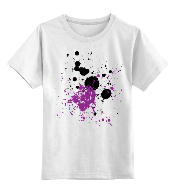 Детская футболка классическая унисекс Printio Творческие кляксы футболка для беременных printio творческие кляксы
