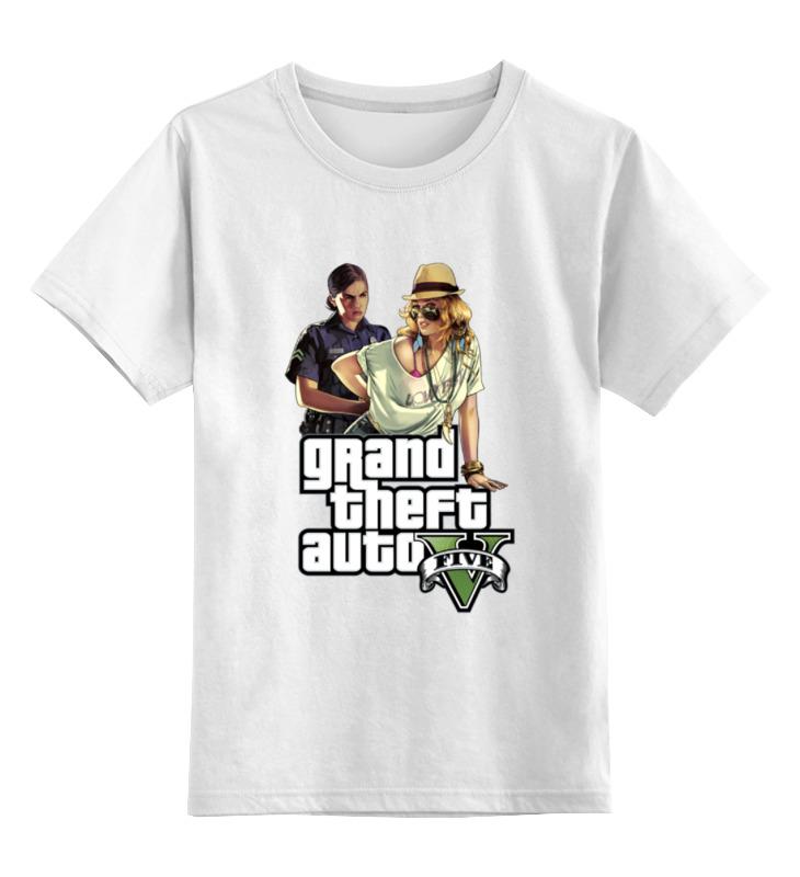 Детская футболка классическая унисекс Printio Gta v футболка классическая printio gta 5 dog