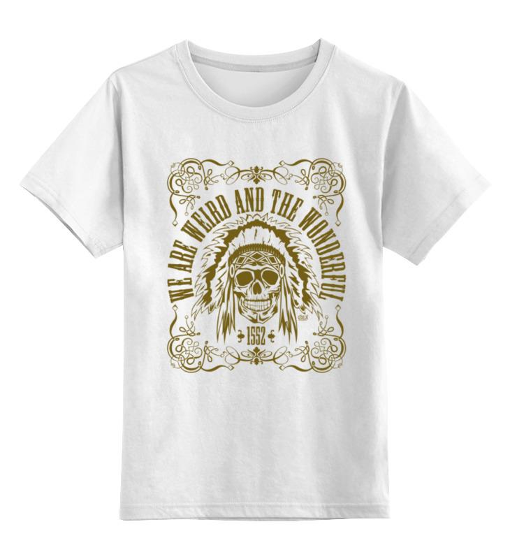 Детская футболка классическая унисекс Printio We are weird and the wonderful футболка wearcraft premium slim fit printio we are weird and the wonderful