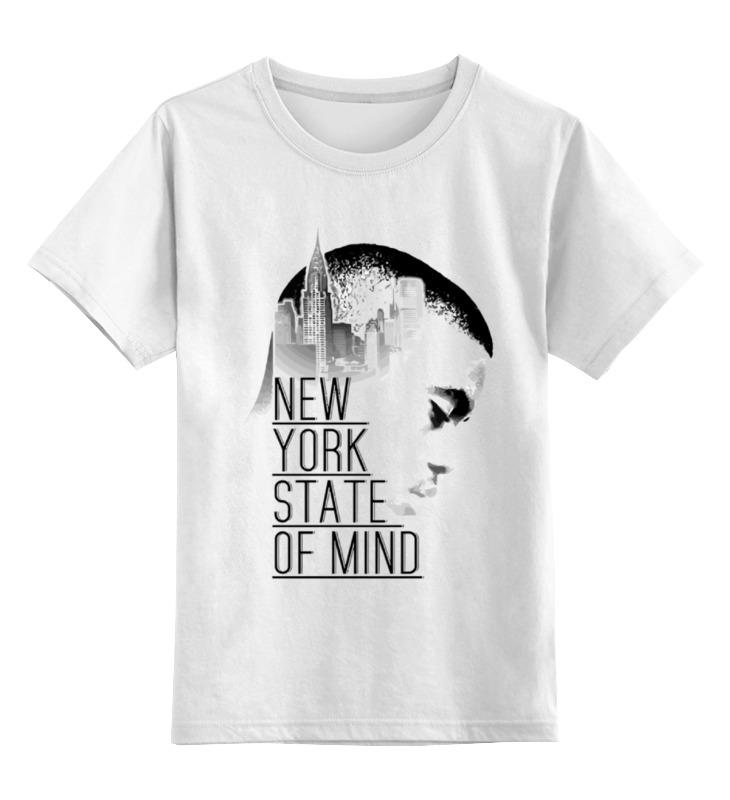 Детская футболка классическая унисекс Printio Насир джонс (nas) футболка wearcraft premium slim fit printio насир джонс nas