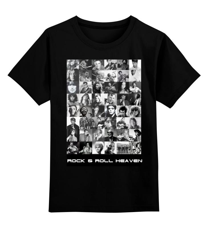 Детская футболка классическая унисекс Printio Rock & roll heaven детская футболка классическая унисекс printio sex drugs and rock n roll
