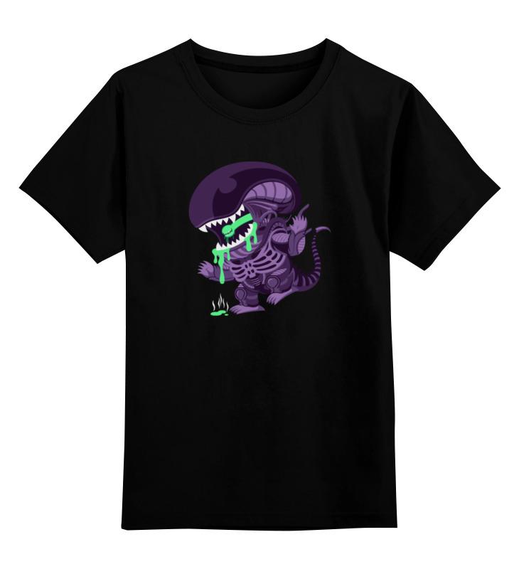 Детская футболка классическая унисекс Printio Чужой (alien) холст 60x90 printio alien чужой