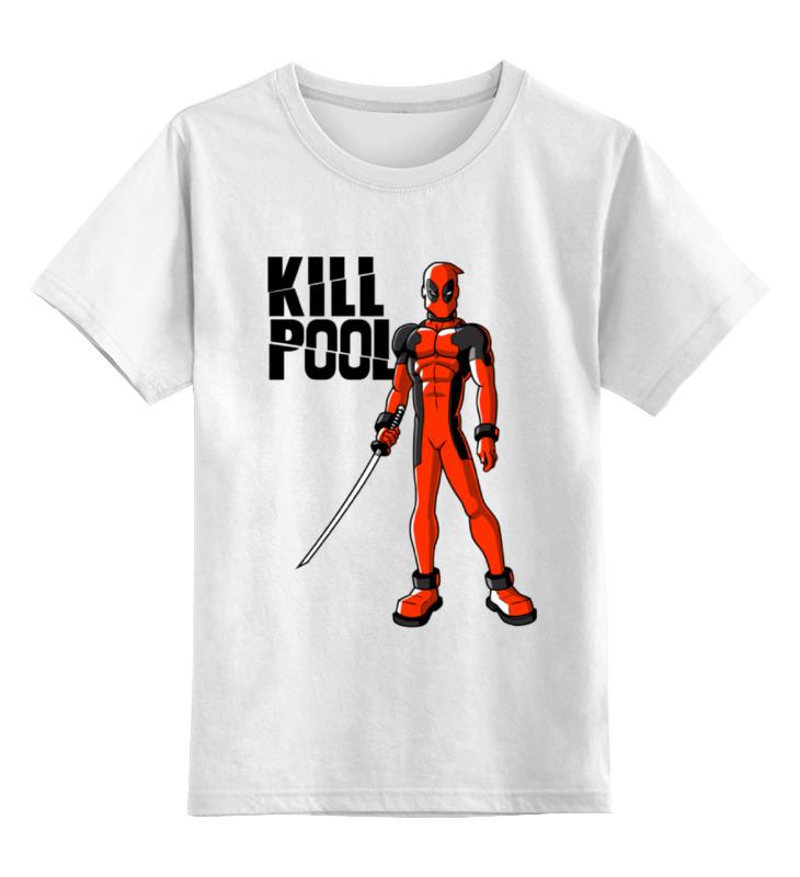 Детская футболка классическая унисекс Printio Килл дэдпул майка классическая printio килл дэдпул