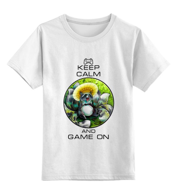 Детская футболка классическая унисекс Printio Raccoon gamer детская футболка классическая унисекс printio мачете
