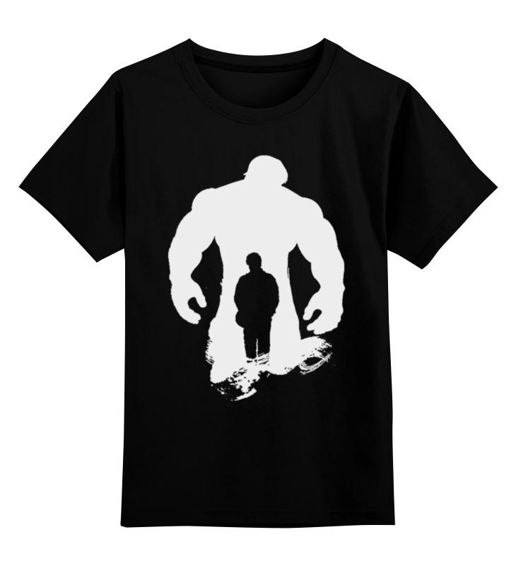 Детская футболка классическая унисекс Printio Hulk & dr.benner наталья миронова тень доктора кречмера
