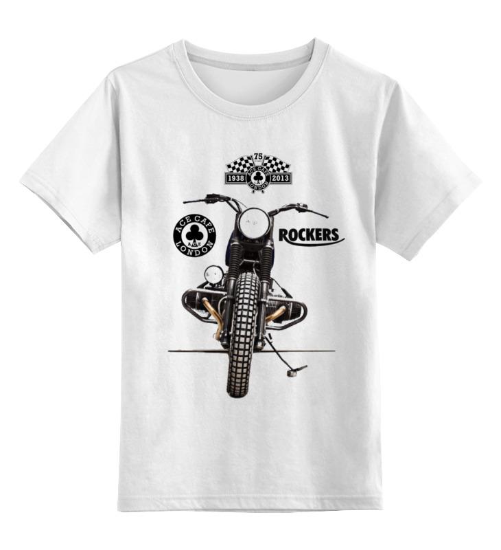 Детская футболка классическая унисекс Printio Ace cafe rockers толстовка wearcraft premium унисекс printio ace cafe rockers
