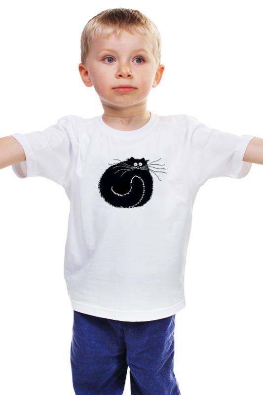 Детская футболка классическая унисекс Printio Чёрный котяра rockbros titanium alloy cycling bicycle seatpost 31 8mm 535mm