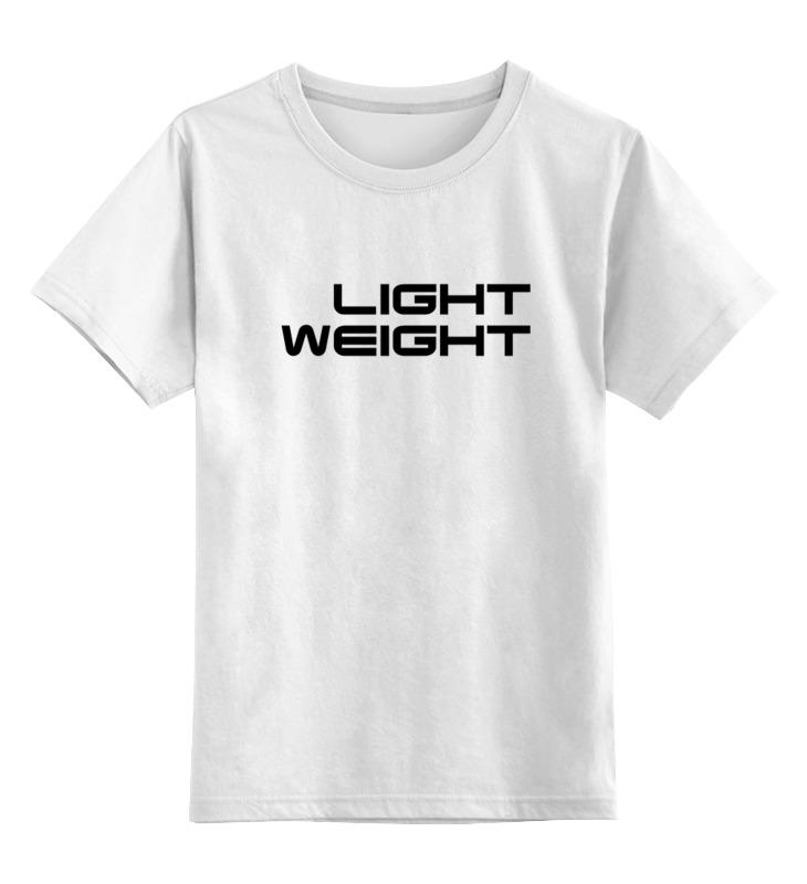 Детская футболка классическая унисекс Printio Light weight футболка классическая printio light weight