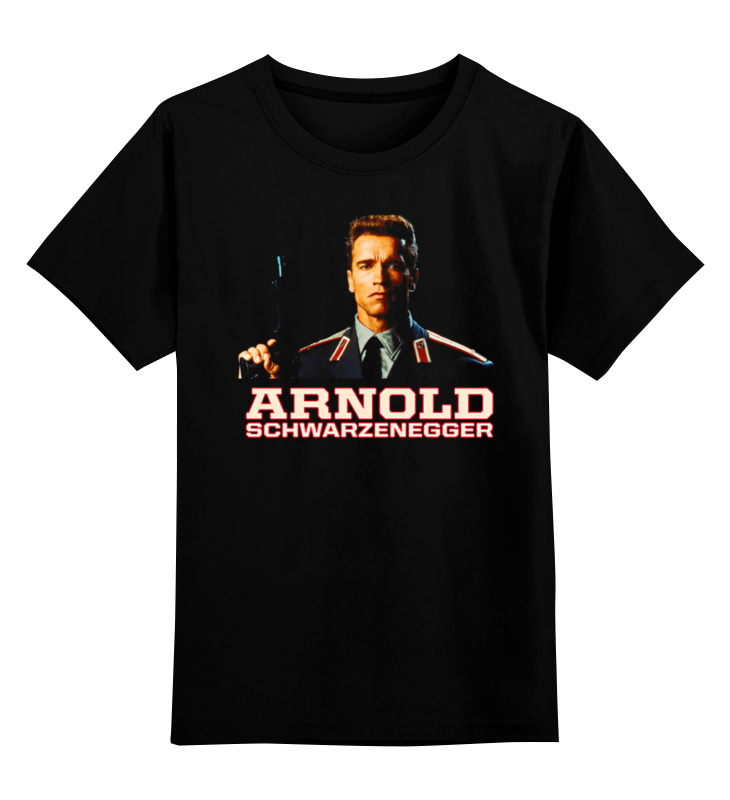 Детская футболка классическая унисекс Printio Arnold schwarzenegger kummer frederic arnold the ivory snuff box