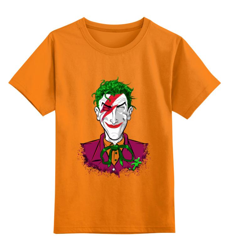 Детская футболка классическая унисекс Printio Bowie joker детская футболка классическая унисекс printio мотобайк