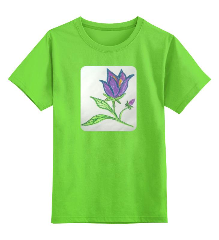 Детская футболка классическая унисекс Printio Колокольчик колокольчик бронзовый ангелочек