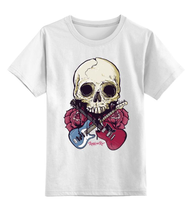 Детская футболка классическая унисекс Printio Rock in rio - фестиваль рок музыки детская футболка классическая унисекс printio rock star рок звезда