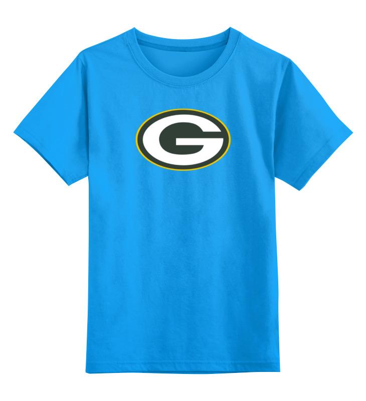 Детская футболка классическая унисекс Printio Green bay packers кепка printio green bay packers