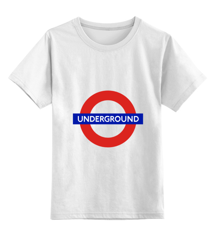 Детская футболка классическая унисекс Printio Underground майка классическая printio underground