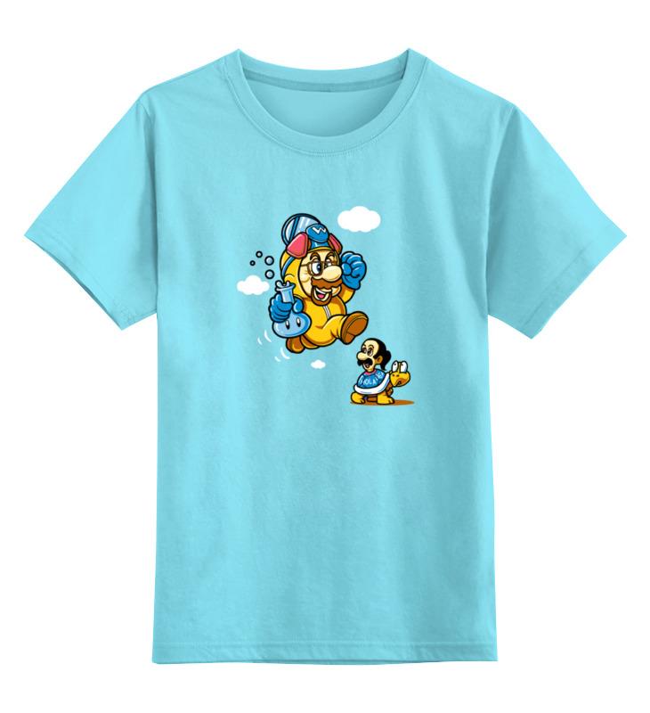 Детская футболка классическая унисекс Printio Breaking bad x mario детская футболка классическая унисекс printio i am the danger breaking bad