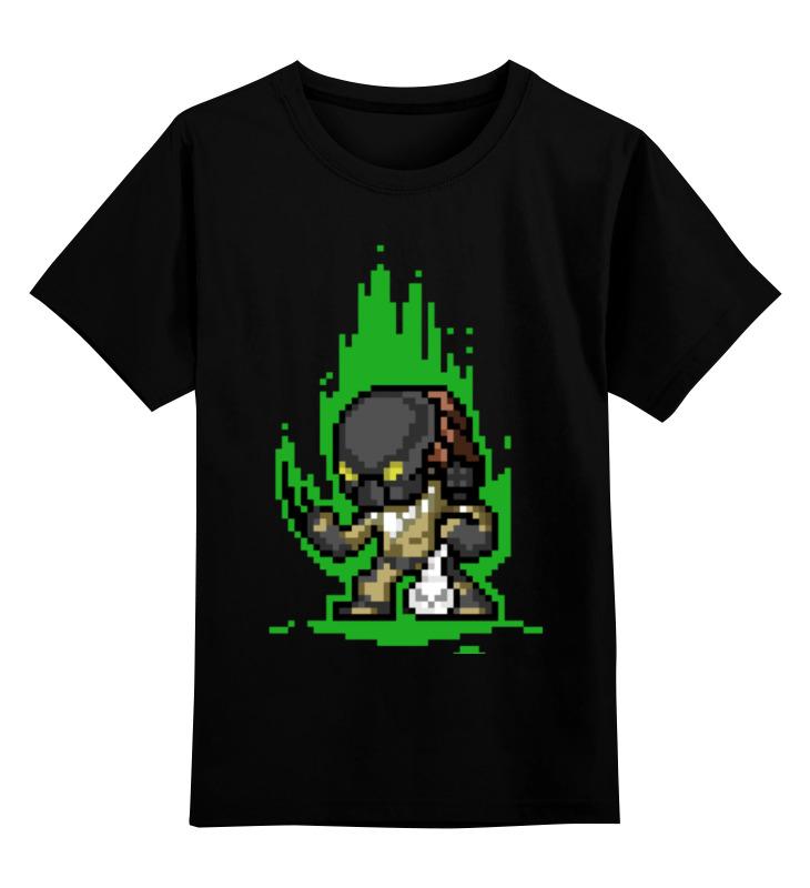 Детская футболка классическая унисекс Printio Чужой футболка чужой