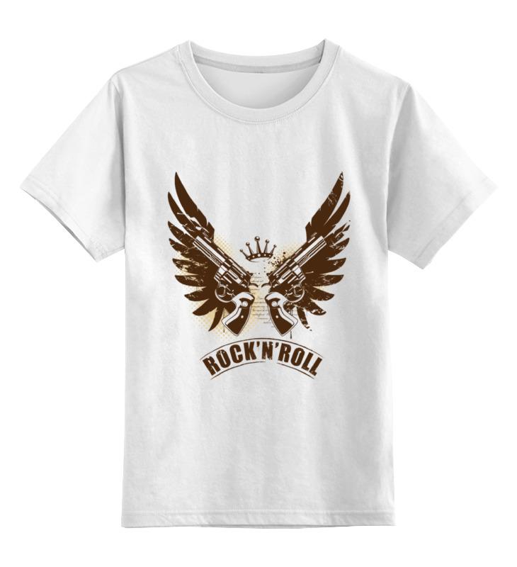 Детская футболка классическая унисекс Printio Рок-н-рол футболка с полной запечаткой мужская printio солдаты смерти