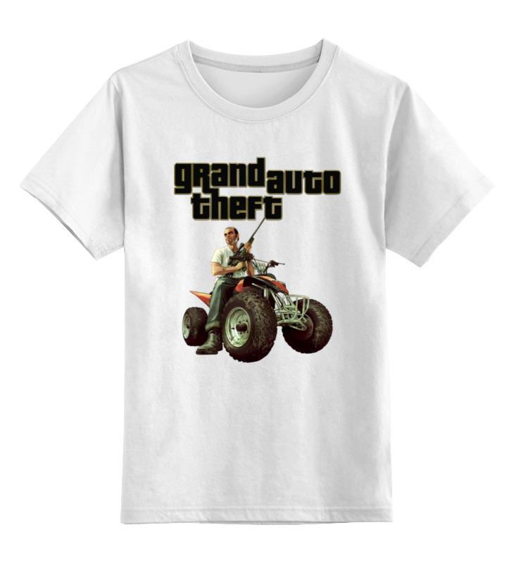 Детская футболка классическая унисекс Printio Gta. футболка классическая printio mario gta