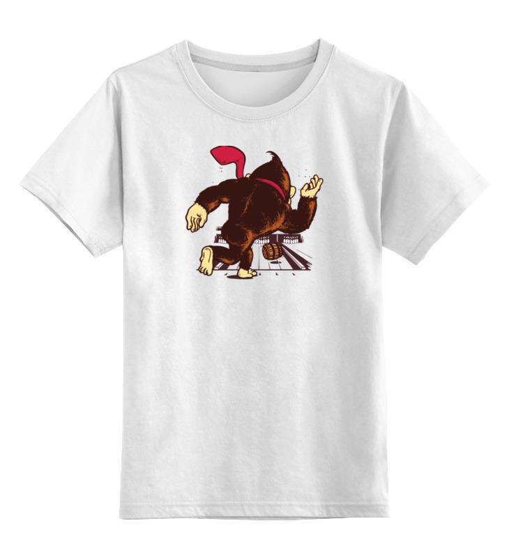 Детская футболка классическая унисекс Printio Donkey kong детская футболка классическая унисекс printio donkey kong nintendo