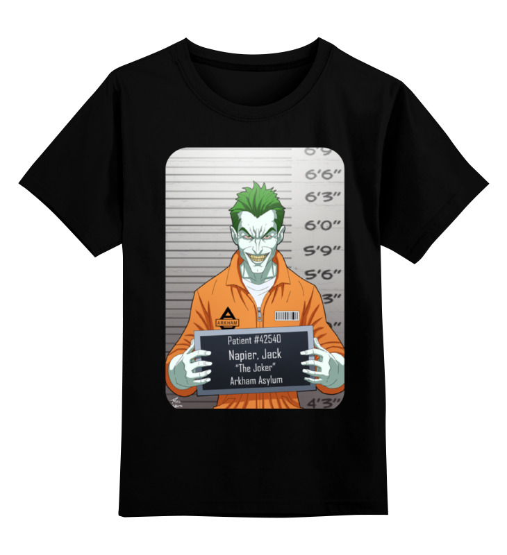 Printio Бэтмен(joker) детская футболка классическая унисекс printio бэтмен joker