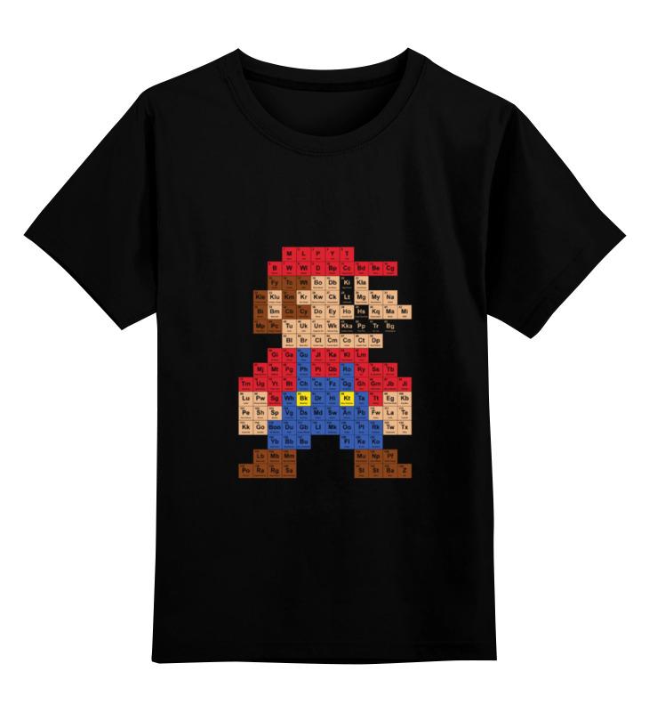 Детская футболка классическая унисекс Printio Марио детская футболка классическая унисекс printio супер марио