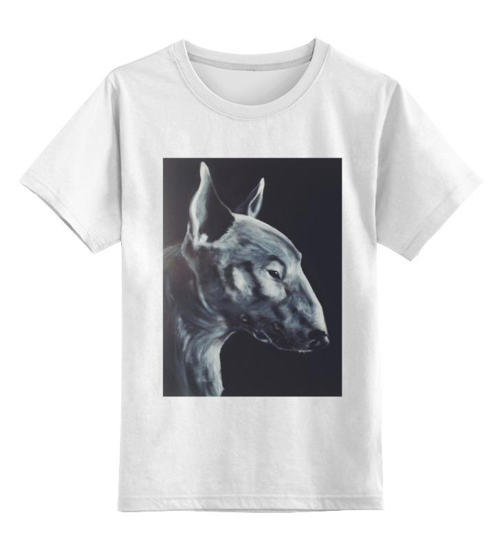 Детская футболка классическая унисекс Printio Bull terrier цена