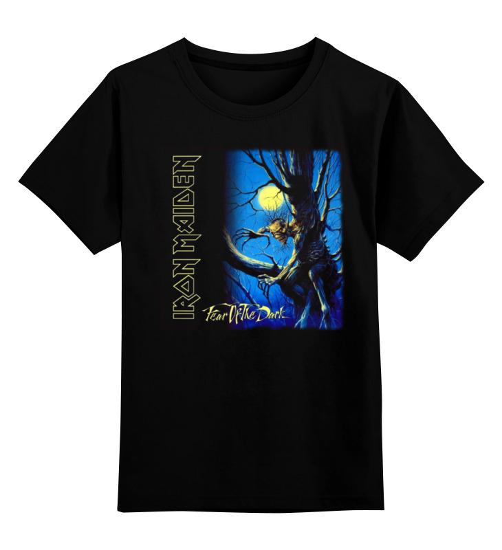 Детская футболка классическая унисекс Printio Iron maiden band