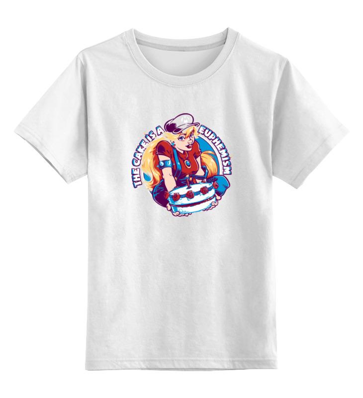 Детская футболка классическая унисекс Printio Принцесса пич (марио) цена и фото