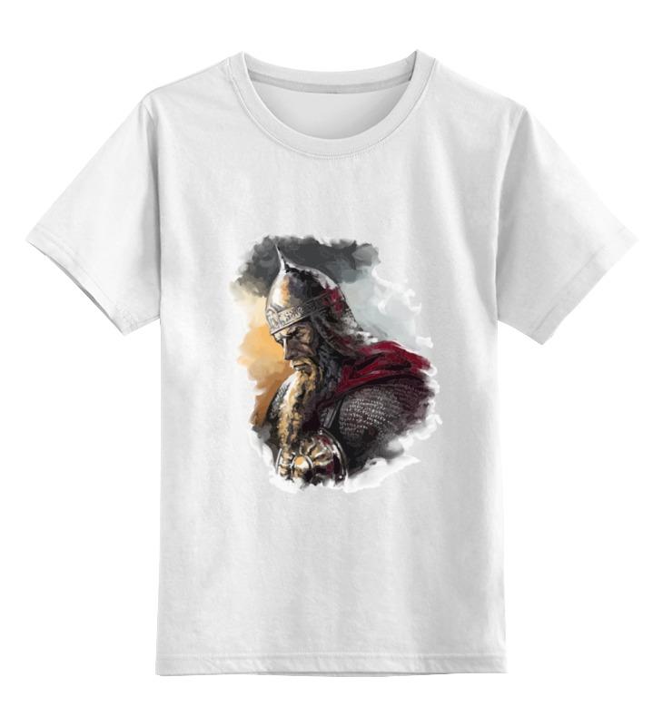 Детская футболка классическая унисекс Printio Витязь тент носовой наши лодки витязь