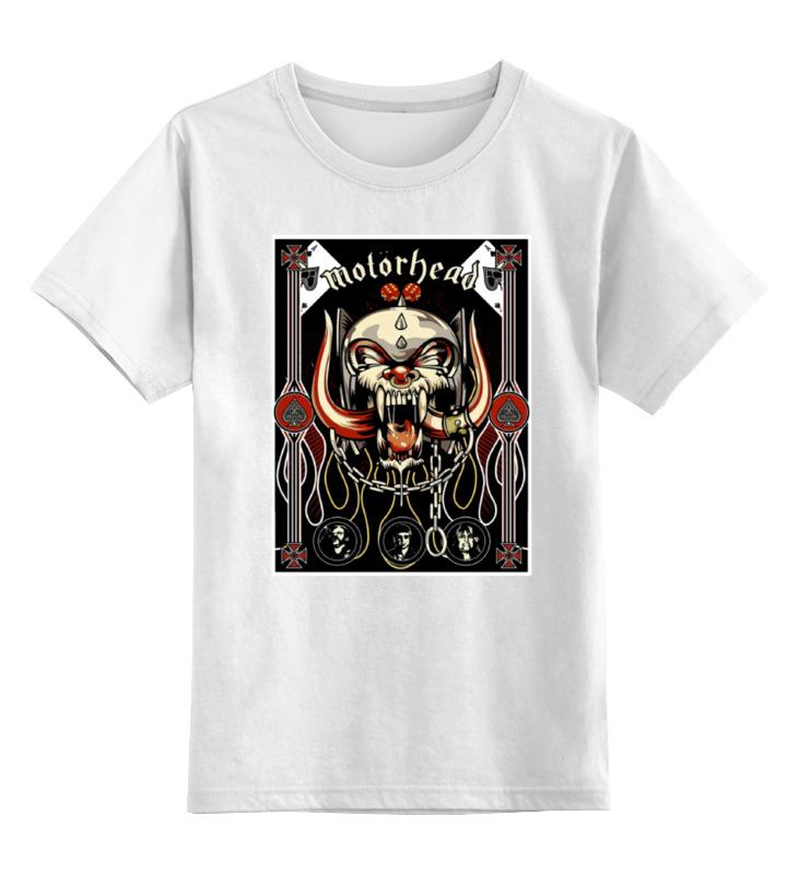 Детская футболка классическая унисекс Printio Motorhead band