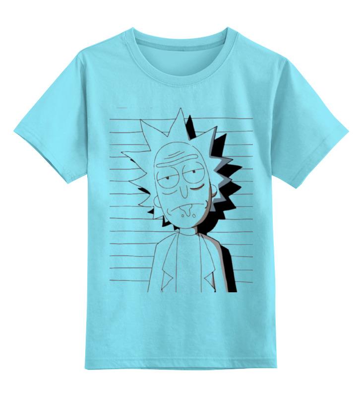 Детская футболка классическая унисекс Printio Рик и морти детская футболка классическая унисекс printio карандаш и самоделкин