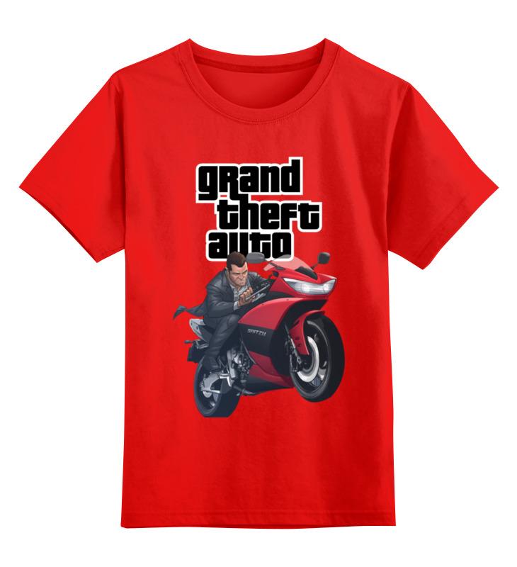 Фото - Детская футболка классическая унисекс Printio Gta. детская футболка классическая унисекс printio lcpd gta