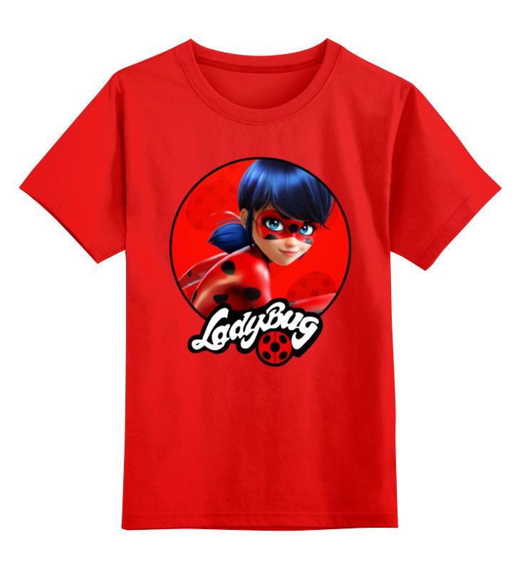 Детская футболка классическая унисекс Printio Леди баг и супер кот