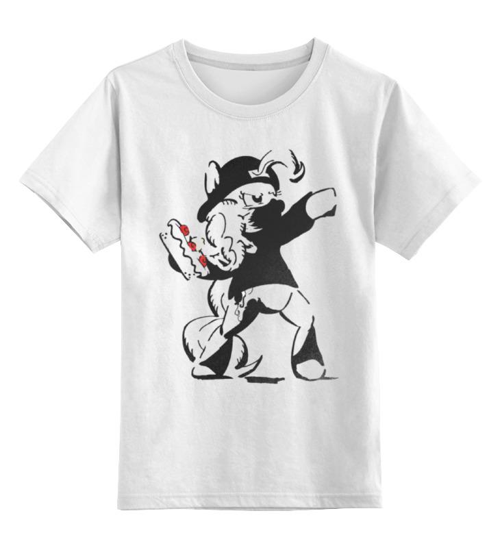 Детская футболка классическая унисекс Printio Ma little banksy лонгслив printio ma little banksy