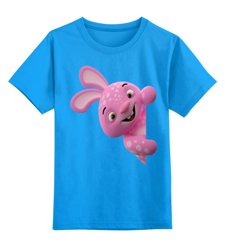 Детская футболка классическая унисекс Printio Зайчик ниблер силиконовый зайчик голубой de 0158