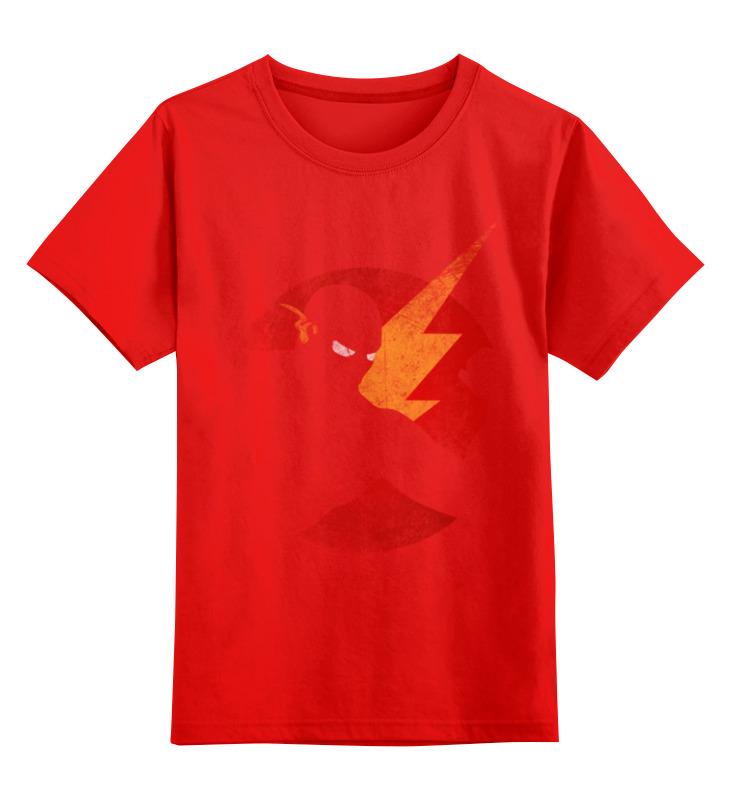 Детская футболка классическая унисекс Printio Flash smoby детская горка king size цвет красный