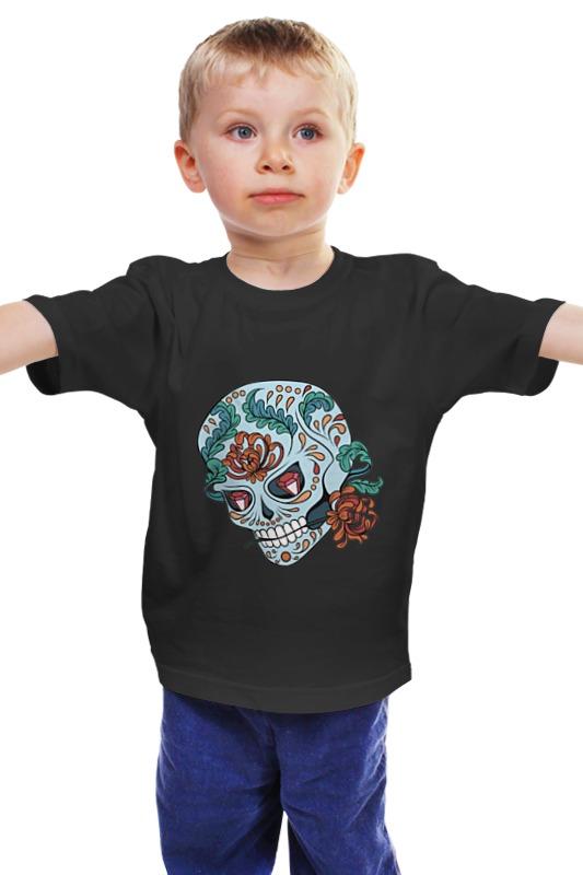 Детская футболка классическая унисекс Printio Skull детская футболка классическая унисекс printio мачете