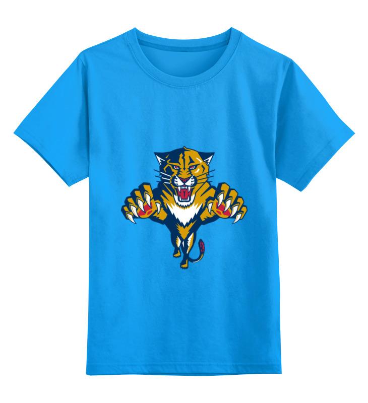 Детская футболка классическая унисекс Printio Florida panthers nfl carolina panthers wristlet keychain lanyard