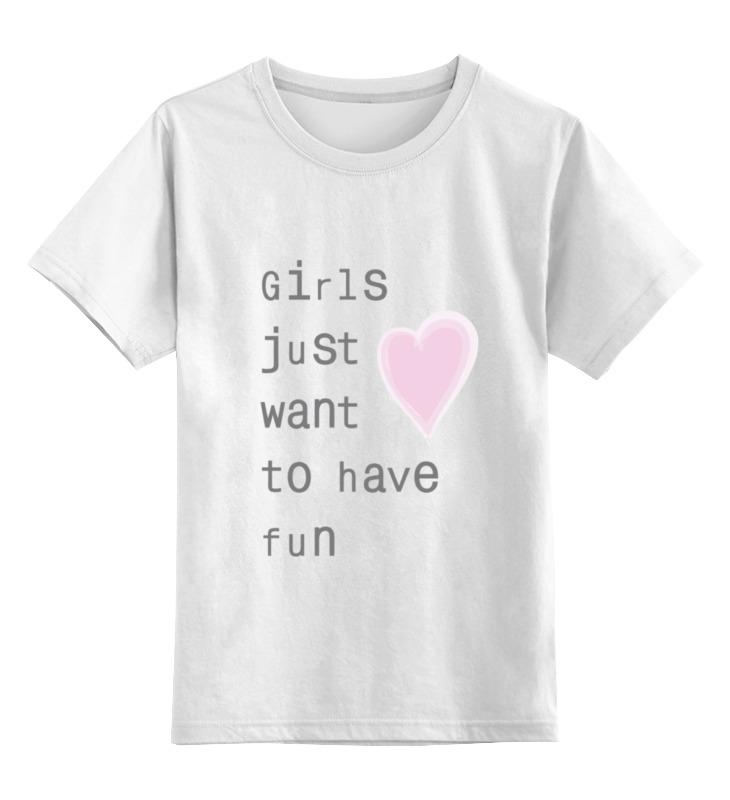 Детская футболка классическая унисекс Printio Girls детская футболка классическая унисекс printio girls sidemount