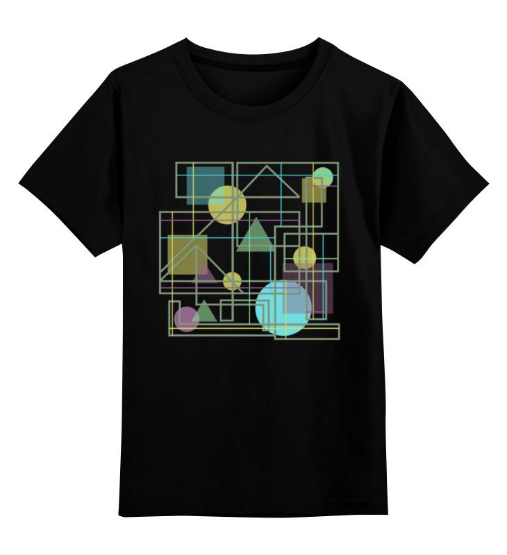 Детская футболка классическая унисекс Printio Геометрический узор все цены