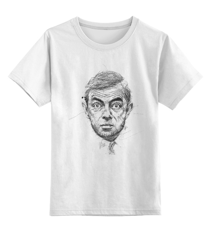 Детская футболка классическая унисекс Printio Мистер
