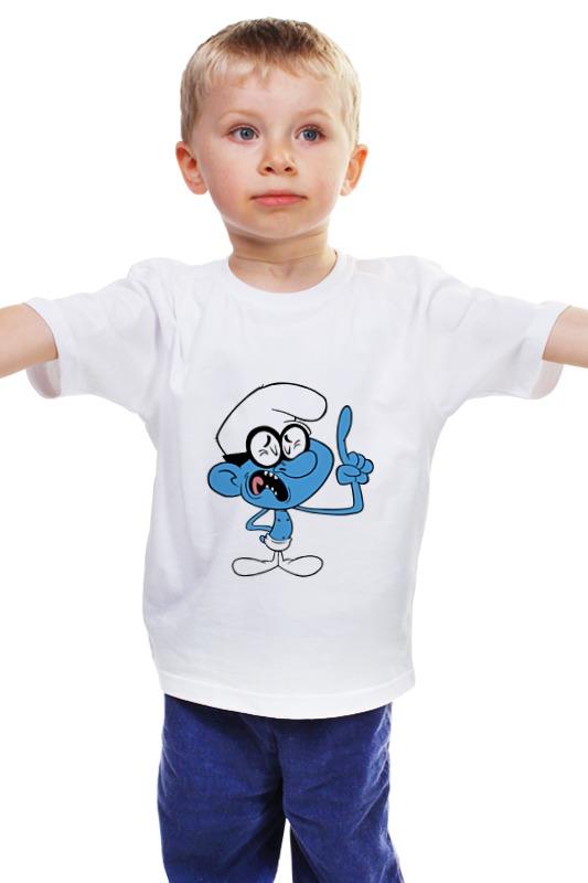 Детская футболка классическая унисекс Printio Смурфики ( the smurfs ) детская футболка классическая унисекс printio the undertaker
