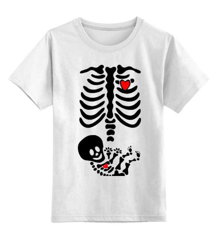 Детская футболка классическая унисекс Printio Скелет в скелете детская футболка классическая унисекс printio скелет пули