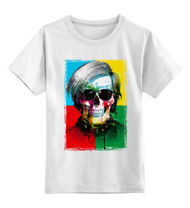 Детская футболка классическая унисекс Printio Череп-арт детская футболка классическая унисекс printio череп марио